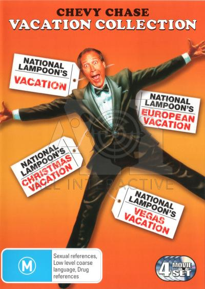 NATIONAL LAMPOON's VACATION Collection DVD NEW CHRISTMAS 4